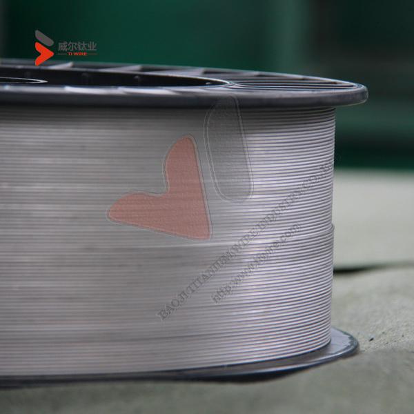 Gr. 5, Gr.9, Gr.12, Gr.23 Titanium Alloy Wire of ASTM B863