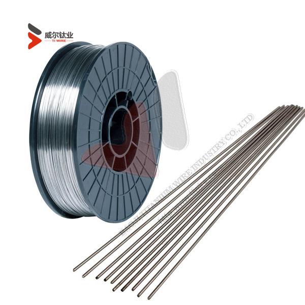 ER Zr2 (UNS R60702) AWS A5.24 ZIRCONIUM WELDING WIRE Dia.2.4 x 1000 mm