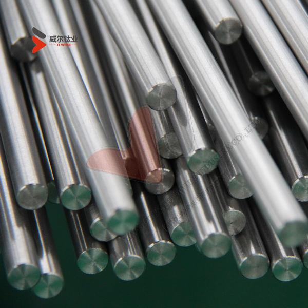 Gr.5, Gr.9, Gr.12, Gr.23 Titanium Alloy Bar of ASTM B348 for Industrial or chemical use