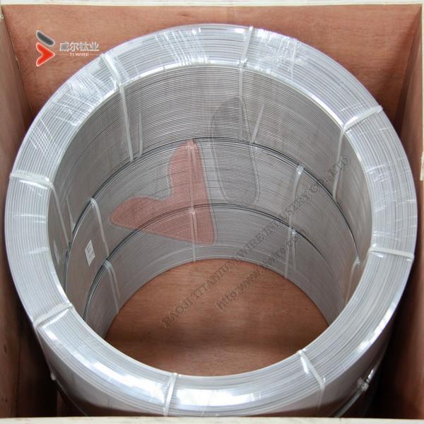 ASTM B348/B863 Grade 1 & Grade 2 Titanium Wire for Spherical Nano Powder and Micro Powder