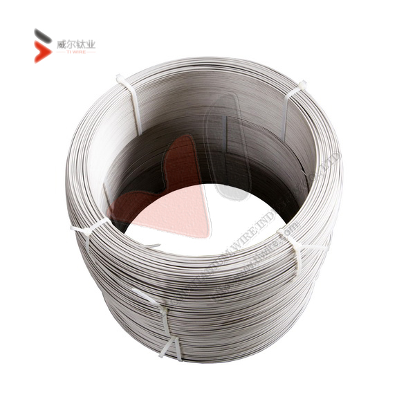 Ti-6Al-4V Eli Titanium Wire for Spherical Nanopowder and 3D Printing