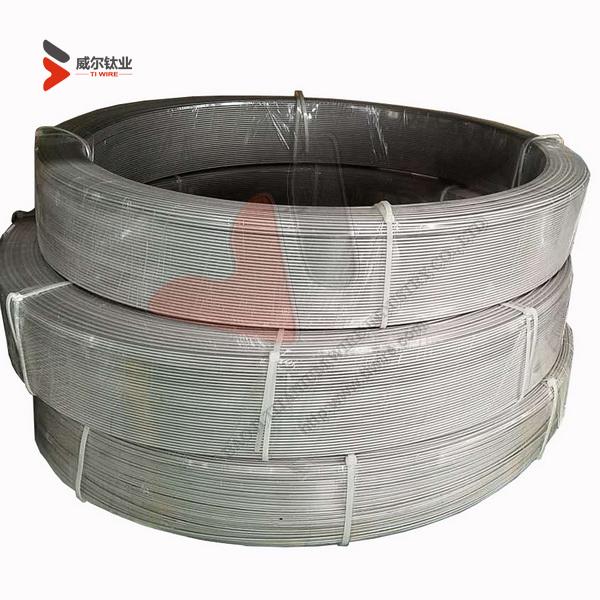 Ti-6Al-4V Eli Titanium Wire for Spherical Nanopowder and 3D Printing