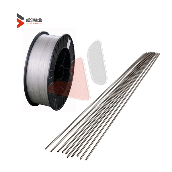 ERTi-12 UNS R53401 Dia. 2.4 x 914 mm Solid Titanium Welding Wire with AWS A5.16/SFA-5.16 Standard