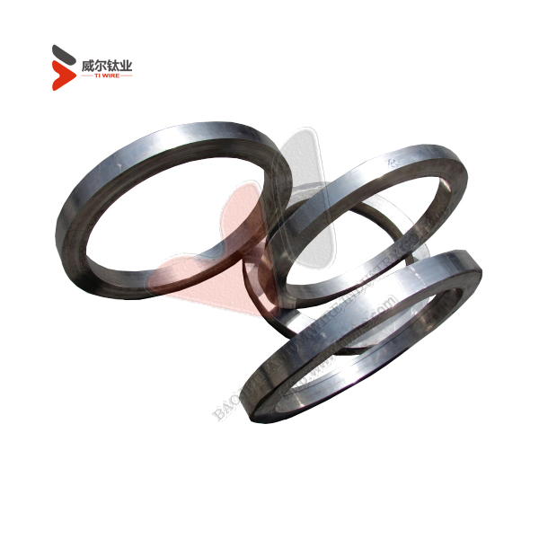 F-5 ASTM B381 Titanium Forged Rings for Mechanical Equipments